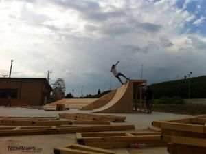 Grecja Thessaloniki  - skatepark