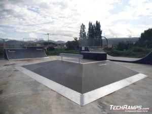 Hiszpania Olot Skatepark