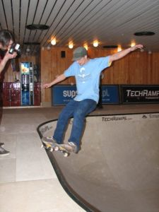 Holek na Skate Poolu Techramps