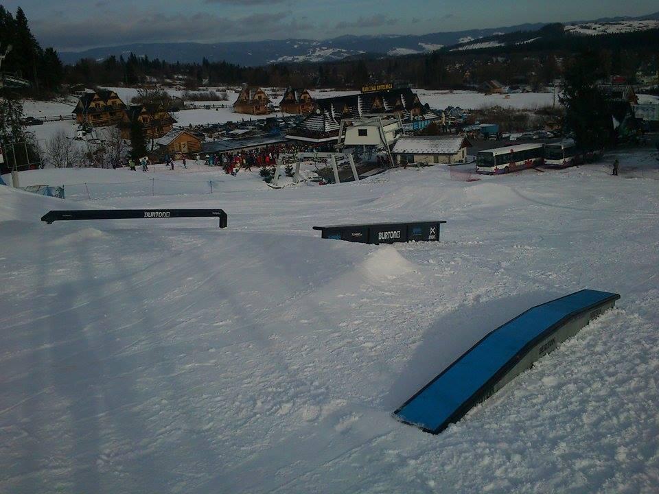 Białka Tatrzańska - mini snowpark