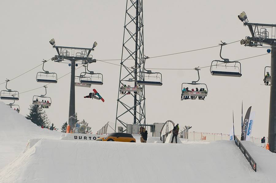 Zawody Oscyp Snowboard Contest