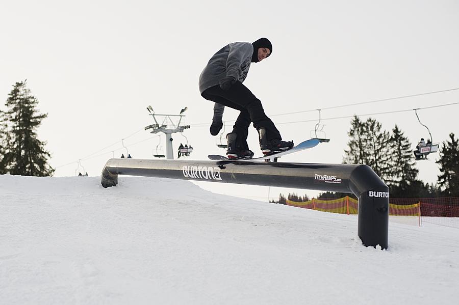 Mini snowpark w Białce Tatrzańskiej