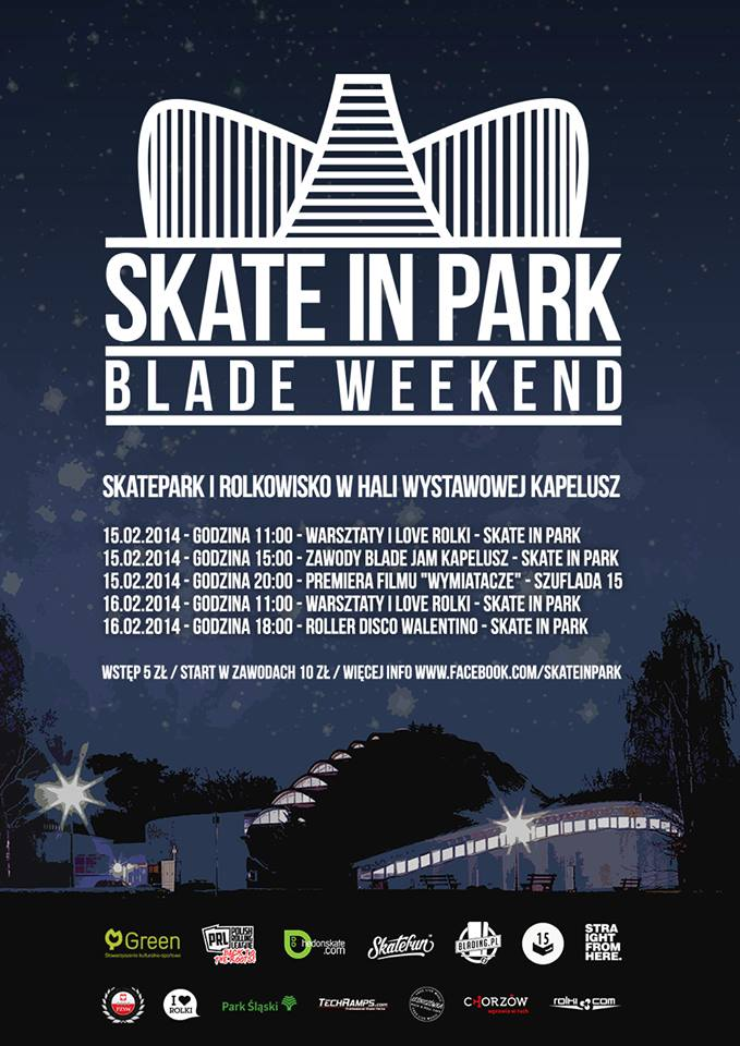 Skate In Park - Blade Weekend
