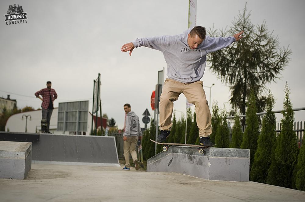 Skatepark betonowy Techramps - Dąbrowa Tarnowska