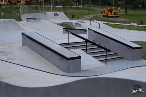 Otwarcie skateparku Techramps - Olkusz