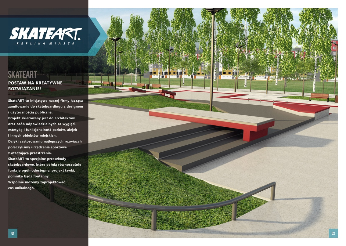 SkateArt - Replika Miasta