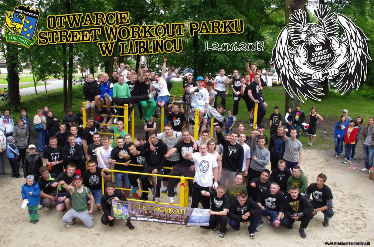 Street Workout Park - Lubliniec