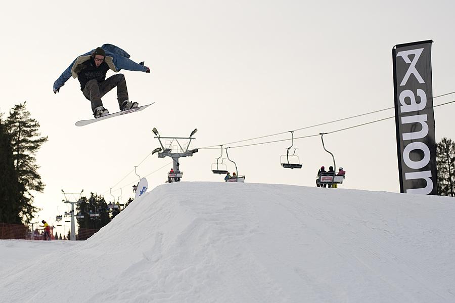 Skocznia - mini snowpark w Białce Tatrzańskiej
