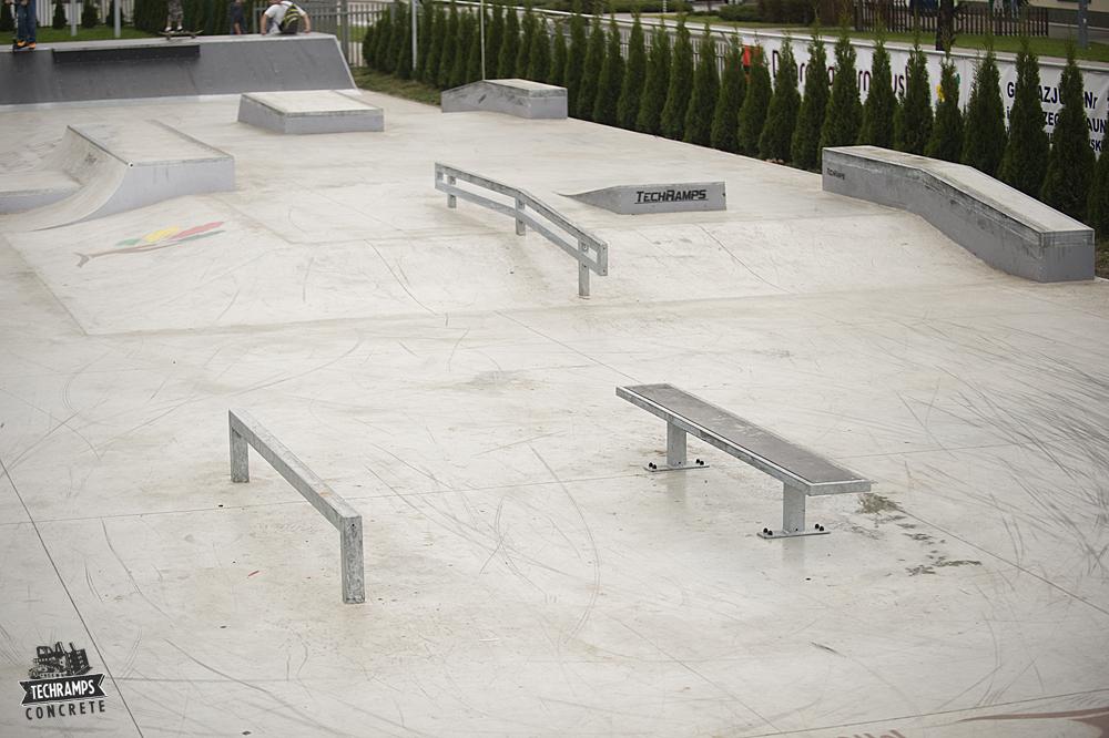 Skatepark betonowy Dąbrowa Tarnowska - otwarcie