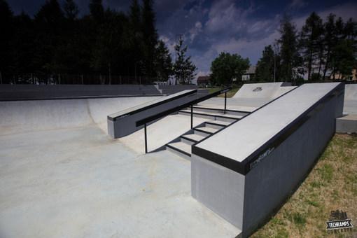 Skatepark w Olkuszu - otwarty