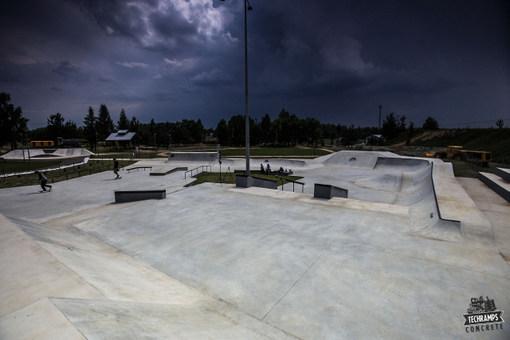 Olkusz  - nowy skatepark