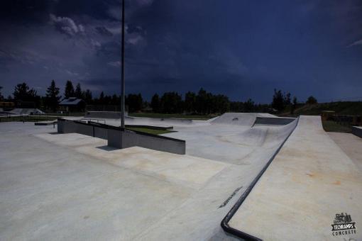 Skatepark betonowy - Olkusz