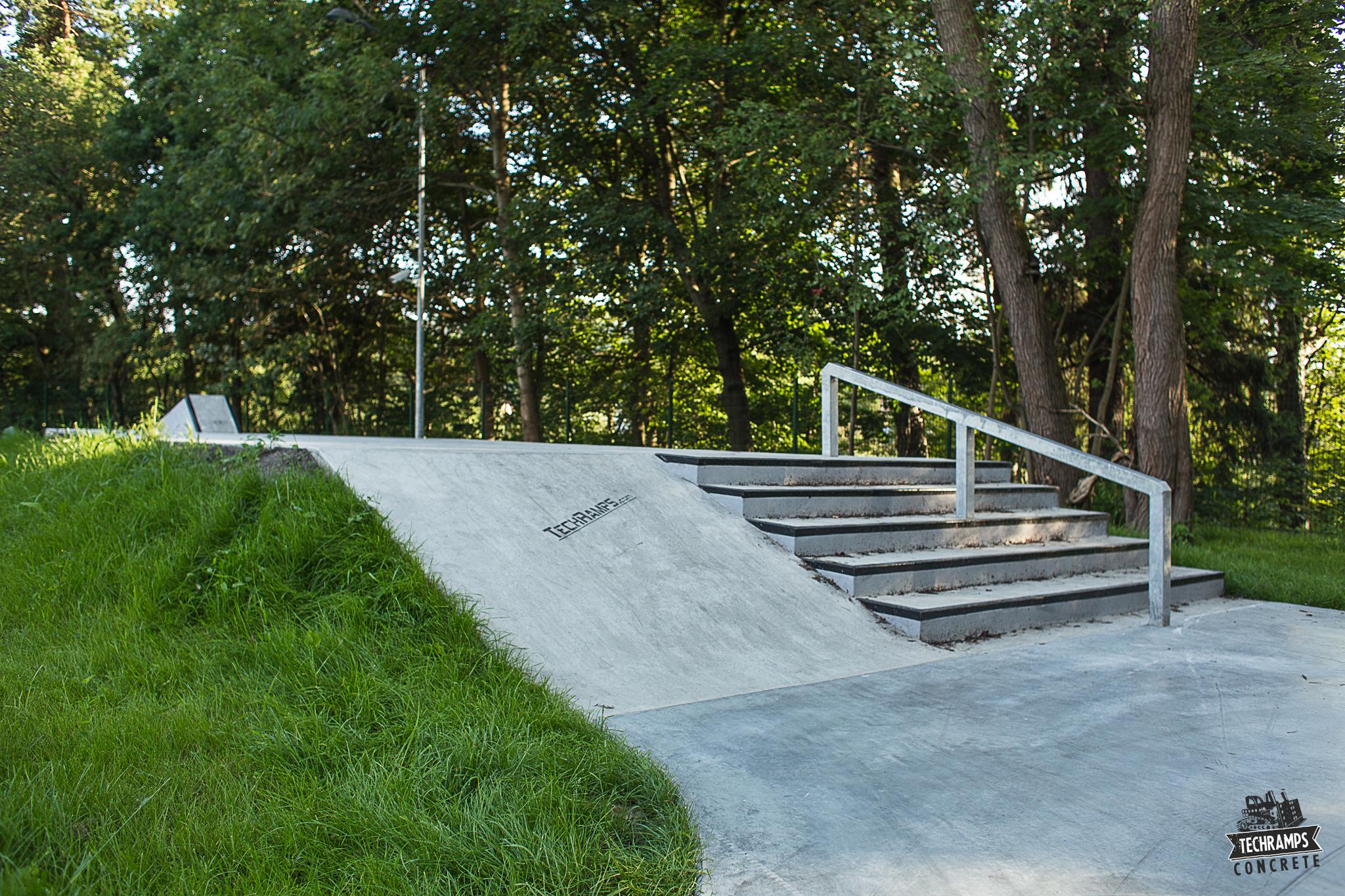 Nowy skatepark w Rabce