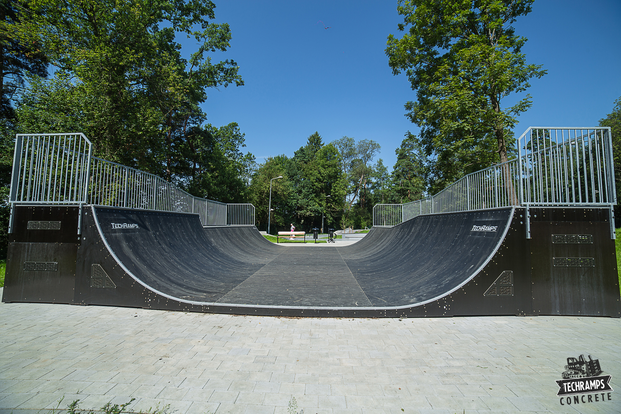 Newly opened skatepark in Rabka