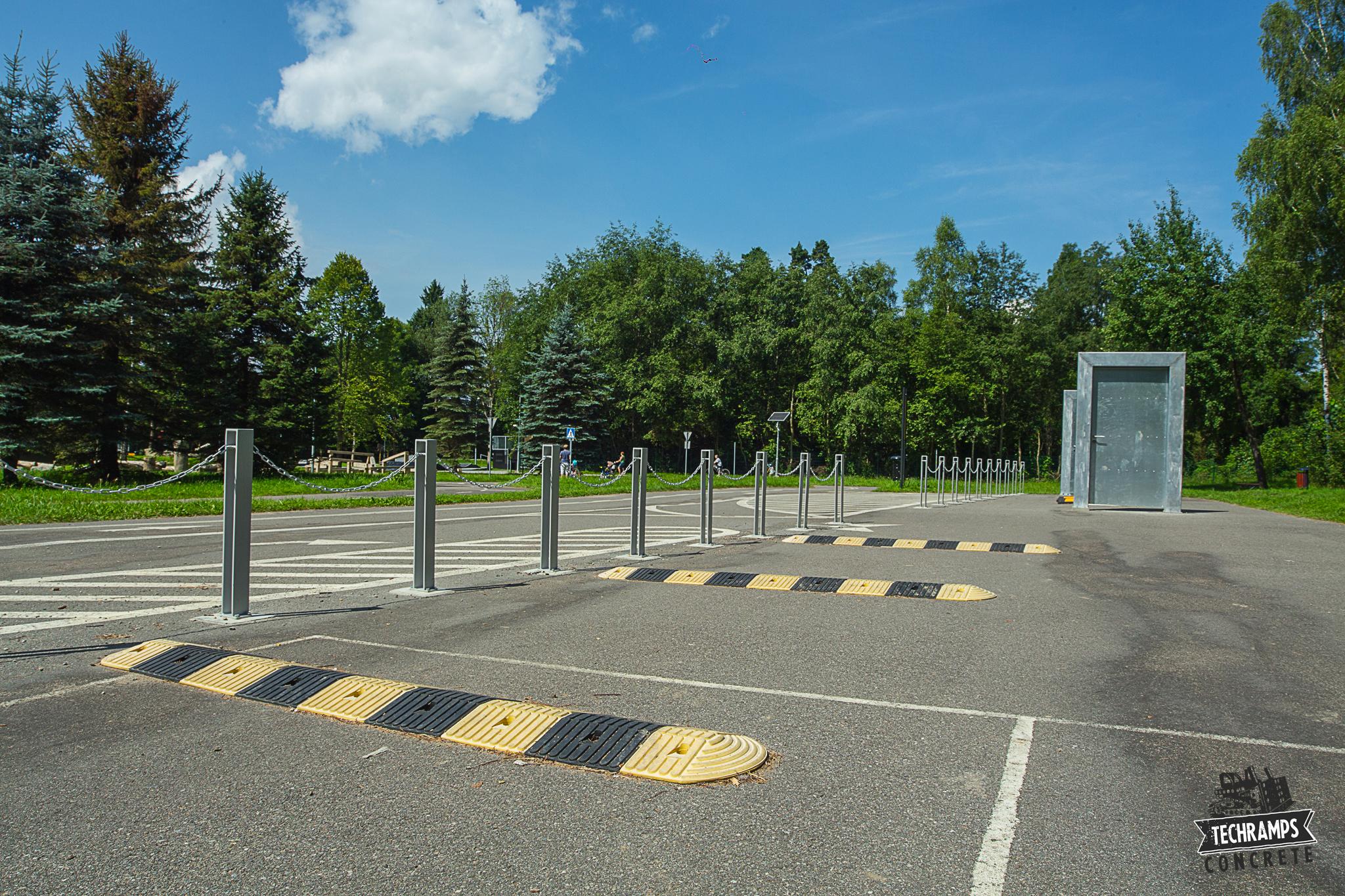 Skatepark betonowy - Rabka Zdrój