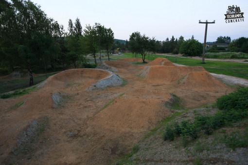 Trasy trialowe - skatepark Techramps Olkusz
