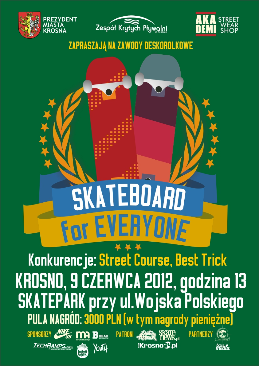 Zawody Skateboard for Everyone - Krosno 2012