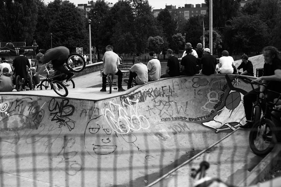 Zawody BMX - Mistrzejowice Cup