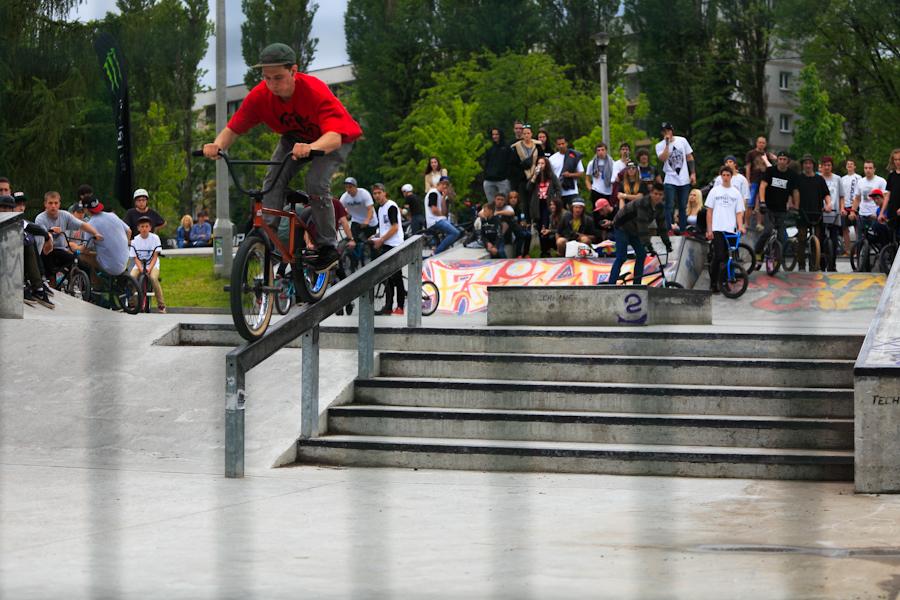 Zawody BMX/In-line - Mistrzejowice Cup 2014