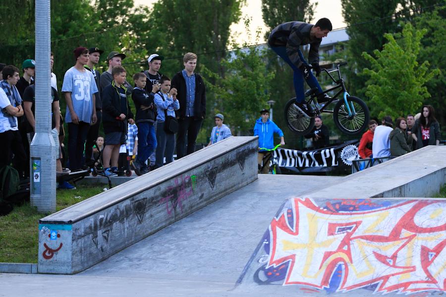 Skatepark Mistrzejowice - Zawody BMX
