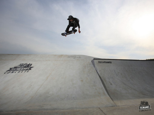 Newly opened skatepark in Olkusz
