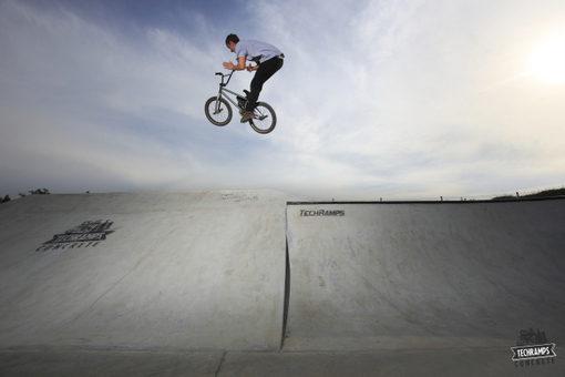 Olkusz - skatepark betonowy Techramps