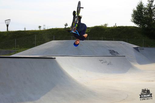 Opening of the skatepark in Olkusz