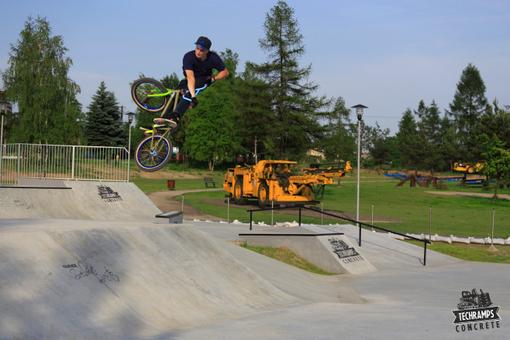 Nowo otwarty skatepark w Olkuszu