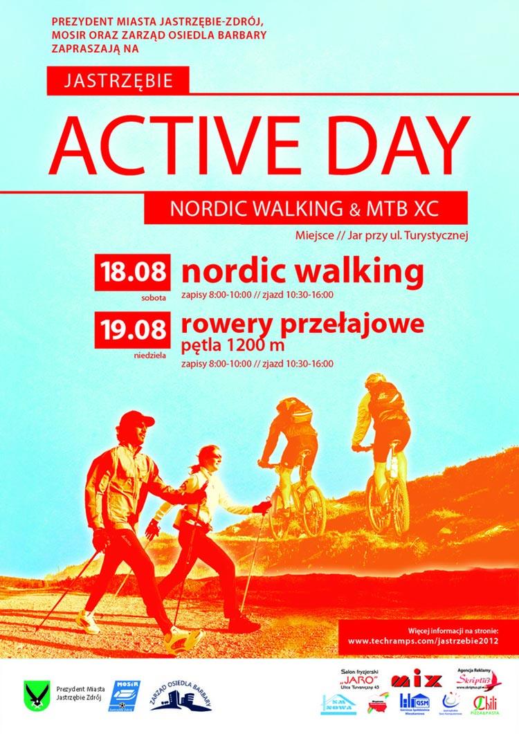 Jastrzębie Active Day 2012 - Nordic Walking