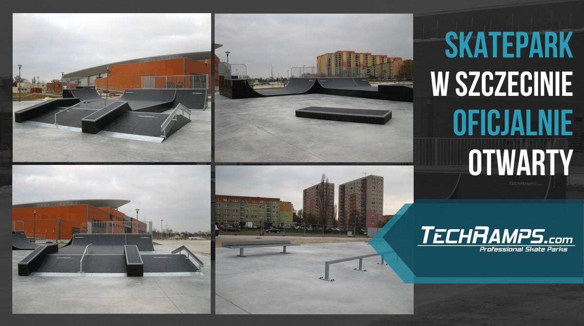 Skatepark w Szczecinie - otwarcie