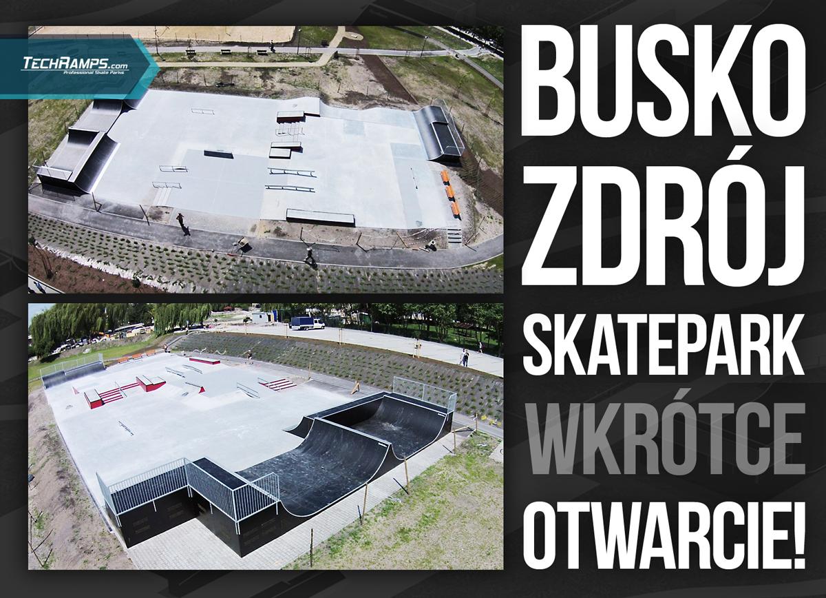 Skatepark Techramps - Busko Zdrój