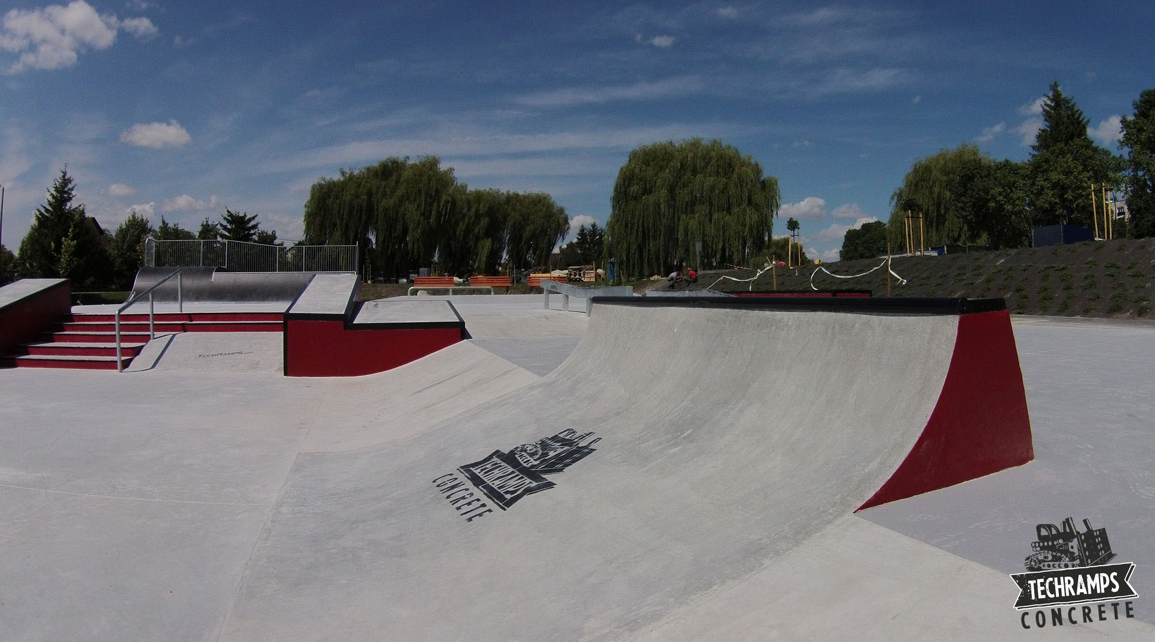 Skatepark Techramps in Buskers Spa