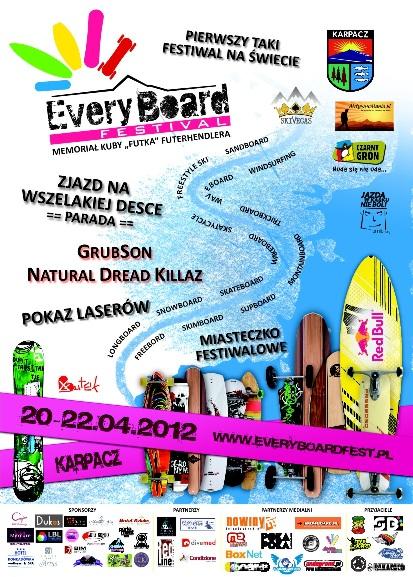 Zawody Every Board Festival 2012 - Karpacz