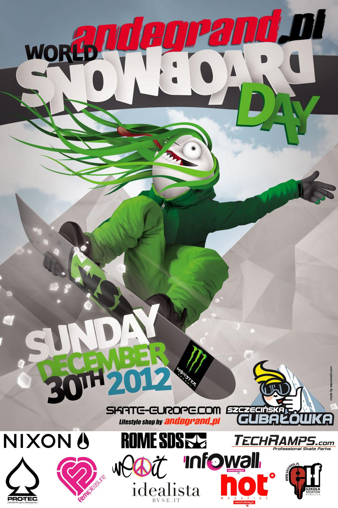 Światowy Dzień Snowboardu - World Snowboard Day