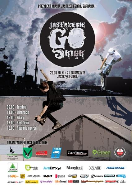 Zawody Jastrzębie Go High - BMX