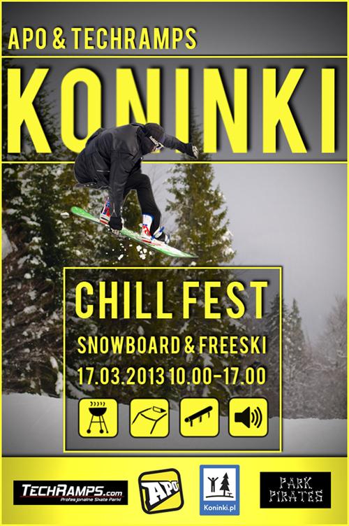Chill Fest Koninki Snowboard