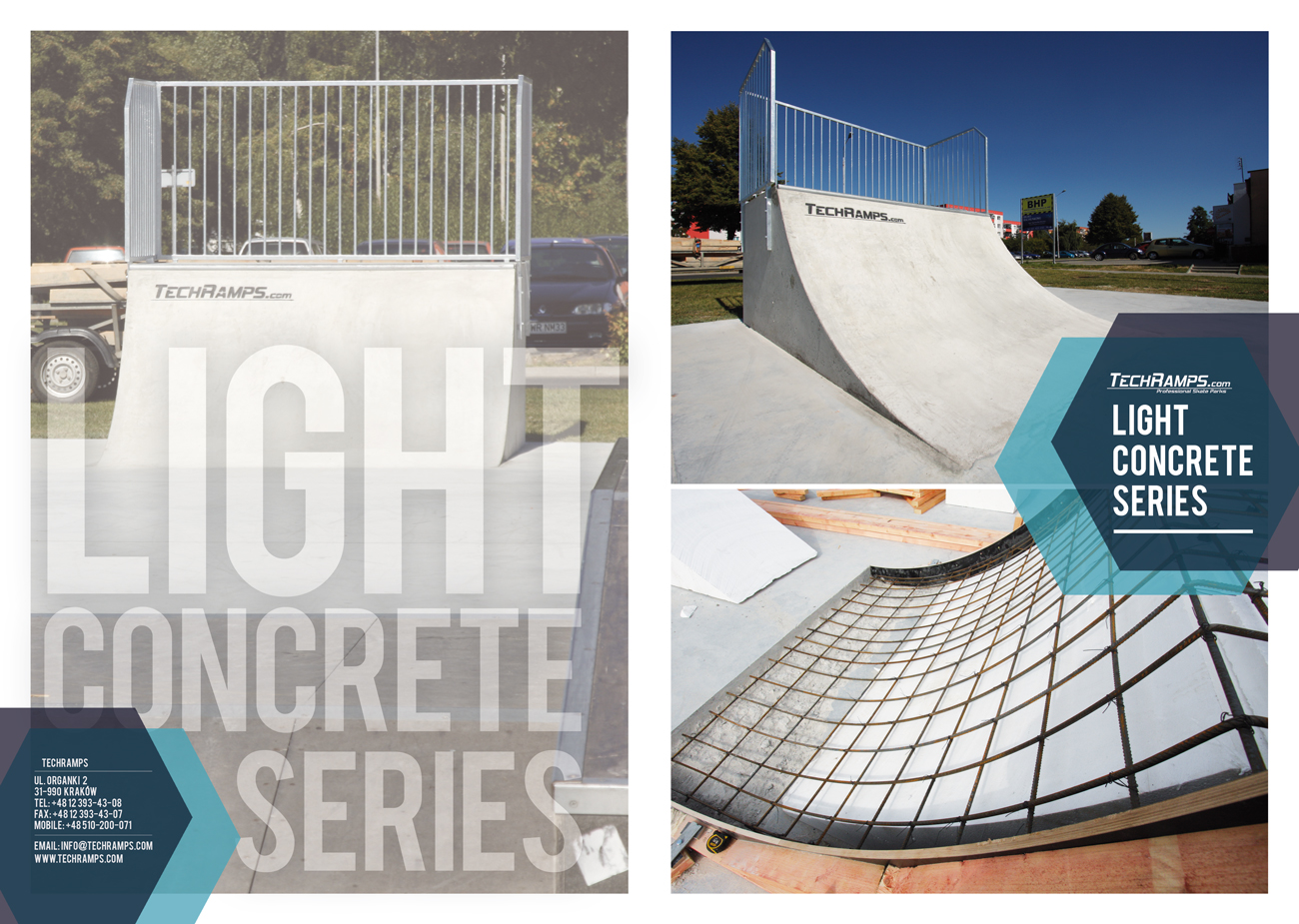 Skatepark - Light Concrete Series