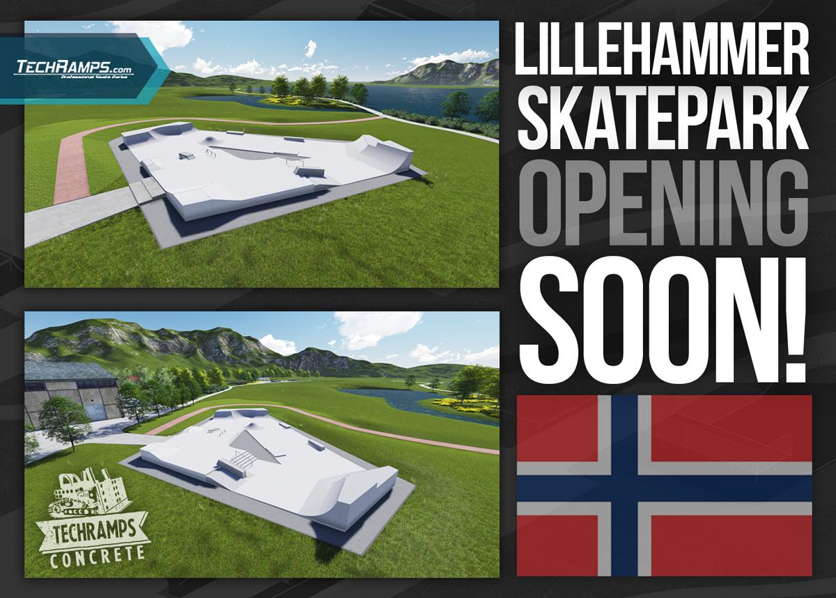 skateparken Lillehammer  skateparker