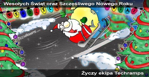 Wesołych Świąt - Techramps