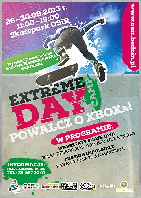 Extreme Day Camp - Będzin 2013