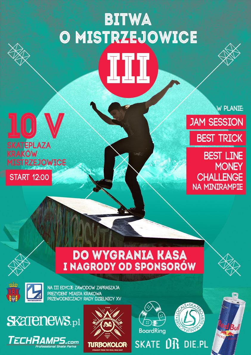 Bitwa o Mistrzejowice 2014 - Skatepark Mistrzejowice