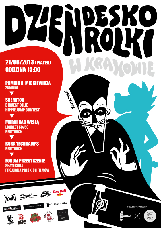 Dzień deskorolki - Kraków 2013