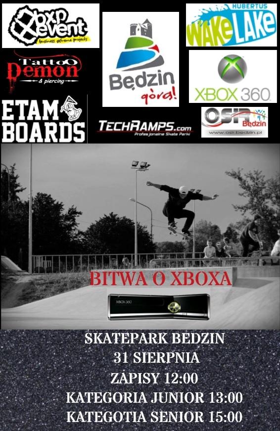 Bitwa o Xboxa - Skatepark Będzin