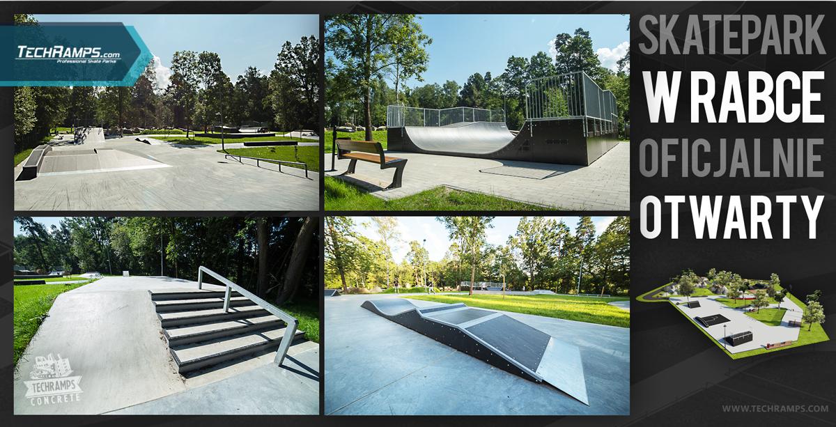 Otwarcie skateparku w Rabce