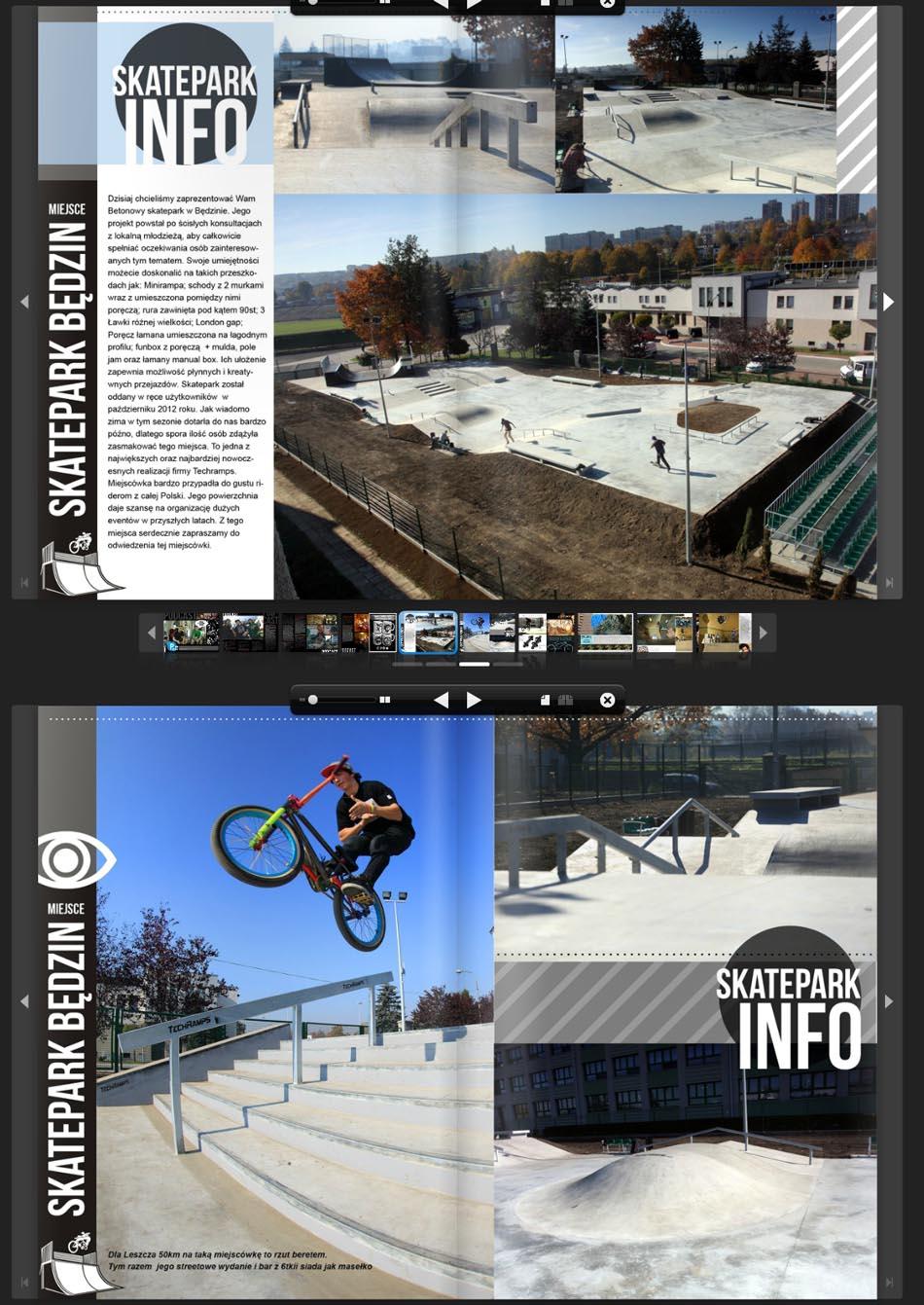 Skatepark Będzin - realizacja