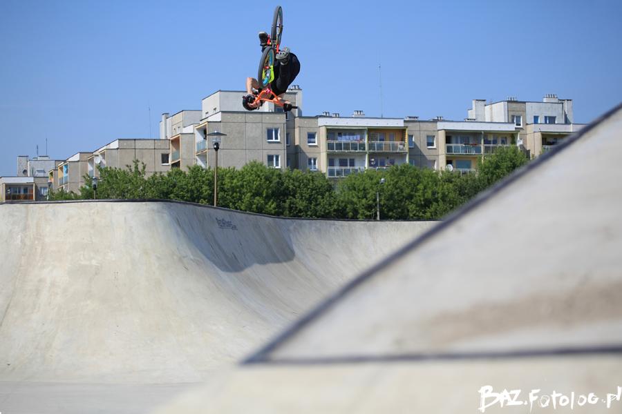 Betonowy skatepark - Opole
