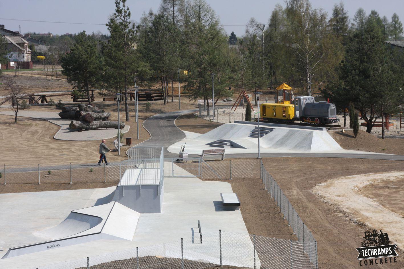 Realizacja skateparku w Olkuszu