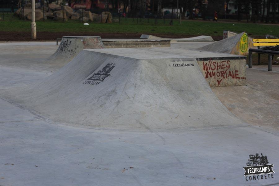 Skatepark Mistrzejowice - rozbudowa