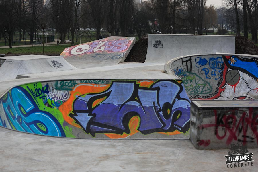 Rozbudowa skateparku w Mistrzejowicach