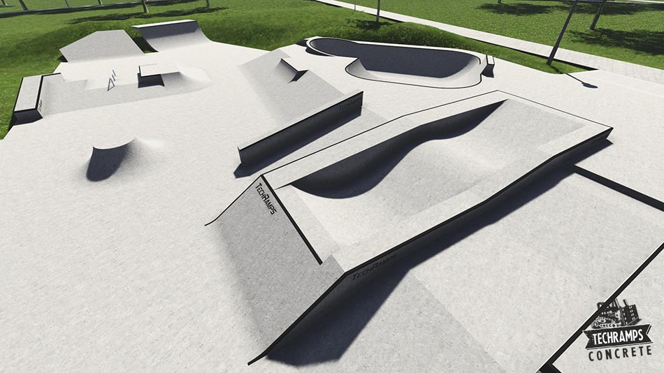 The expansion project of skatepark in Mistrzejowice